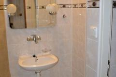 dvoulůžkový pokoj č. 7 - koupelna